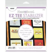HeatnBond EZ-TEE Woven Fusible Stabilizer-White 14