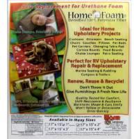 Home Foam Polyester Fiber 17x15x2