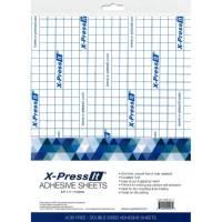 X-Press It Adhesive Sheet 8.5x11 5pc