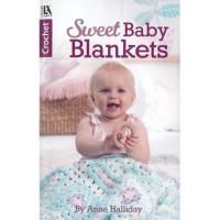 Leisure Arts Crochet Sweet Baby Blankets Bk
