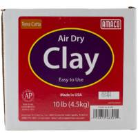 Air Dry Modeling Clay 10 Pounds-Terra Cotta