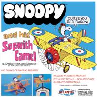 Plastic Model Kit-Snoopy And His Sopwith Camel