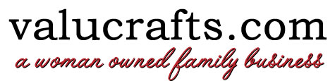 ValuCrafts has over 80000 craft related products at an incredible Valu price!